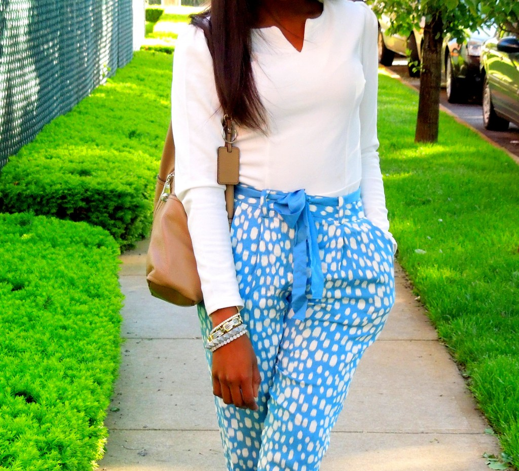 Personal Style: Splashes Of White