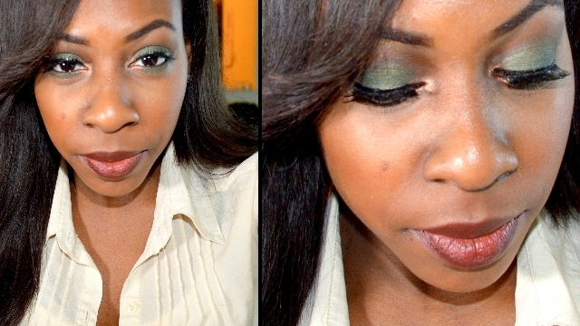 Soulful Eye Makeup For Dark Skin!