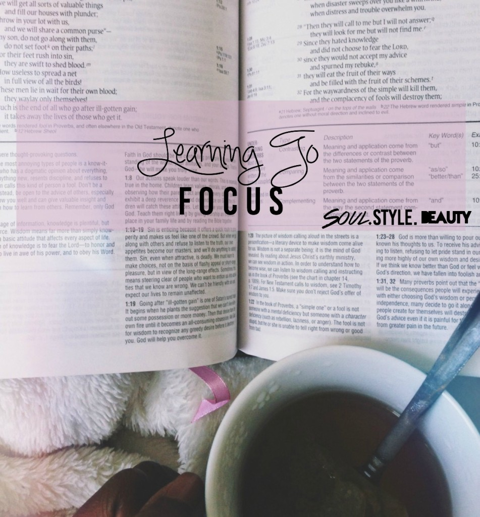 DISTRACTIONS- Learning To Focus.